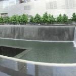 Panoramaaufnahme des 9/11-Memorials