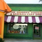 The Androids Dungeon & Baseball Card Shop - Comic-Shop in Springfield (leider nur eine Schaufensterfront)