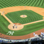 Baseball-Infield im New York Yankees Stadium
