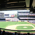 Panorama New York Yankees Stadium vom Main Level (2. Ebene)