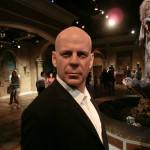 Bruce Willis als Wachsfigur