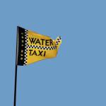 Fahne mit dem Logo des New York Water Taxi