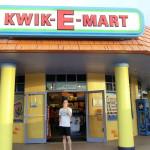 Der legendäre Kwik-E-Mart in Springfield - Nachbau in den Universal Studios Florida