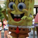 Spongebob Schwammkopf bei der Universal Superstar Parade