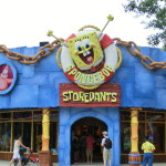 Spongebob Storepants - Fan Shop in den Universal Studios
