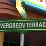 Straßenschild Evergreen Terrace
