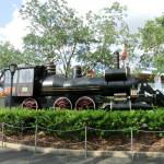 Doc Emmet Browns Lokomotive aus Zurück in die Zukunft III
