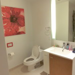 Toilette in der Studio Suite der Dharma Home Suite - 70 Greene Street Jersey City