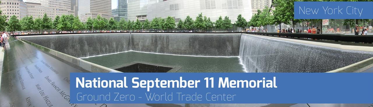 Ground Zero - World Trade Center: National September 11 Memorial New York City