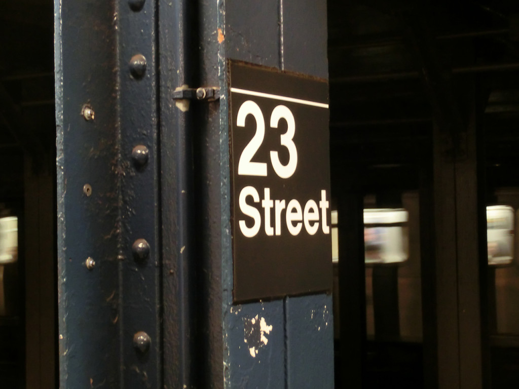 23 Street - Subway Station - New York City