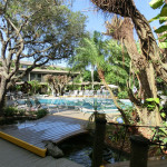 Ansicht Swimming-Pool Innenhof Best Western Naples Inn & Suites