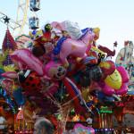 Bunte Luftballon-Figuren
