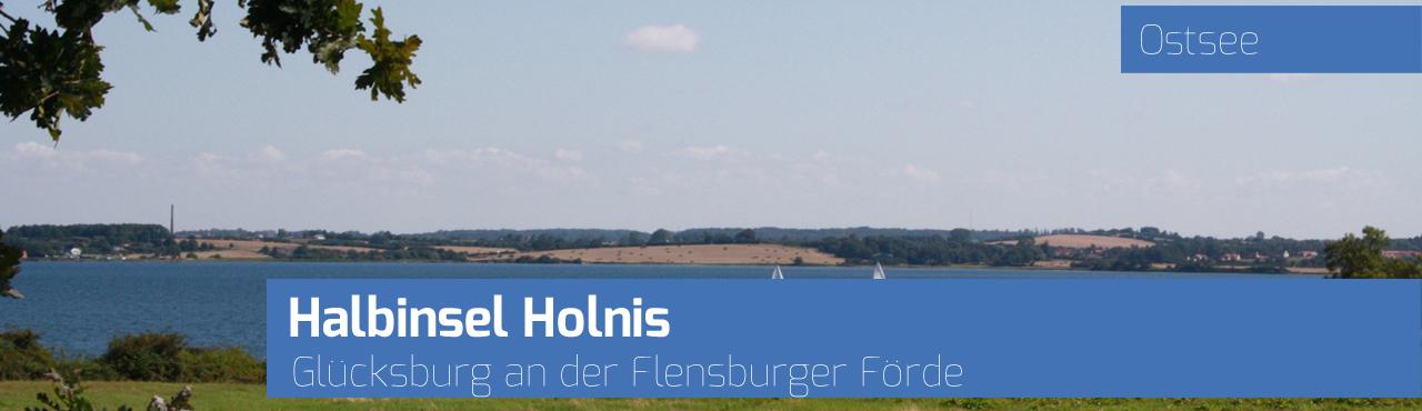 Halbinsel Holnis bei Glücksburg an der Flensburger Förde