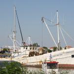 Ein altes griechisches Fischerboot