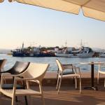 Griechische Fischerboote im Hafen