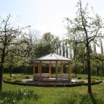 Halbmondhäuschen im Schlosspark von Bad Mergentheim