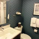 Anicht Badezimmer - Waschbecken und Toilette - The Liaison Capitol Hill - Washington D. C.