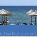 Sandstrand Keramoti Griechenland