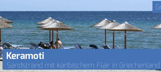 Infos und Bilder vom Strand in Keramoti