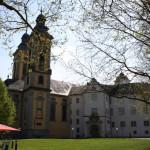 Schlosshof des Deutschordensschlosses in Bad Mergentheim