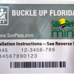 SunPass Mini - StickerTransponder