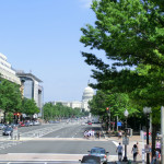 The Mall in Washington D. C. - Blickrichtung zum Capitol Building