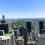 Blick über den Central Park