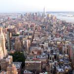 Blick auf Midtown und Lower Manhattan