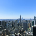 Manhattan - in der Mitte das Empire State Building