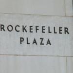 Rockefeller Plaza - Inschrift