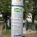 Wegweiser SI-Centrum Stuttgart