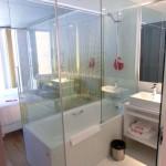 Ansicht Badezimmer im Hotel nhow Rotterdam