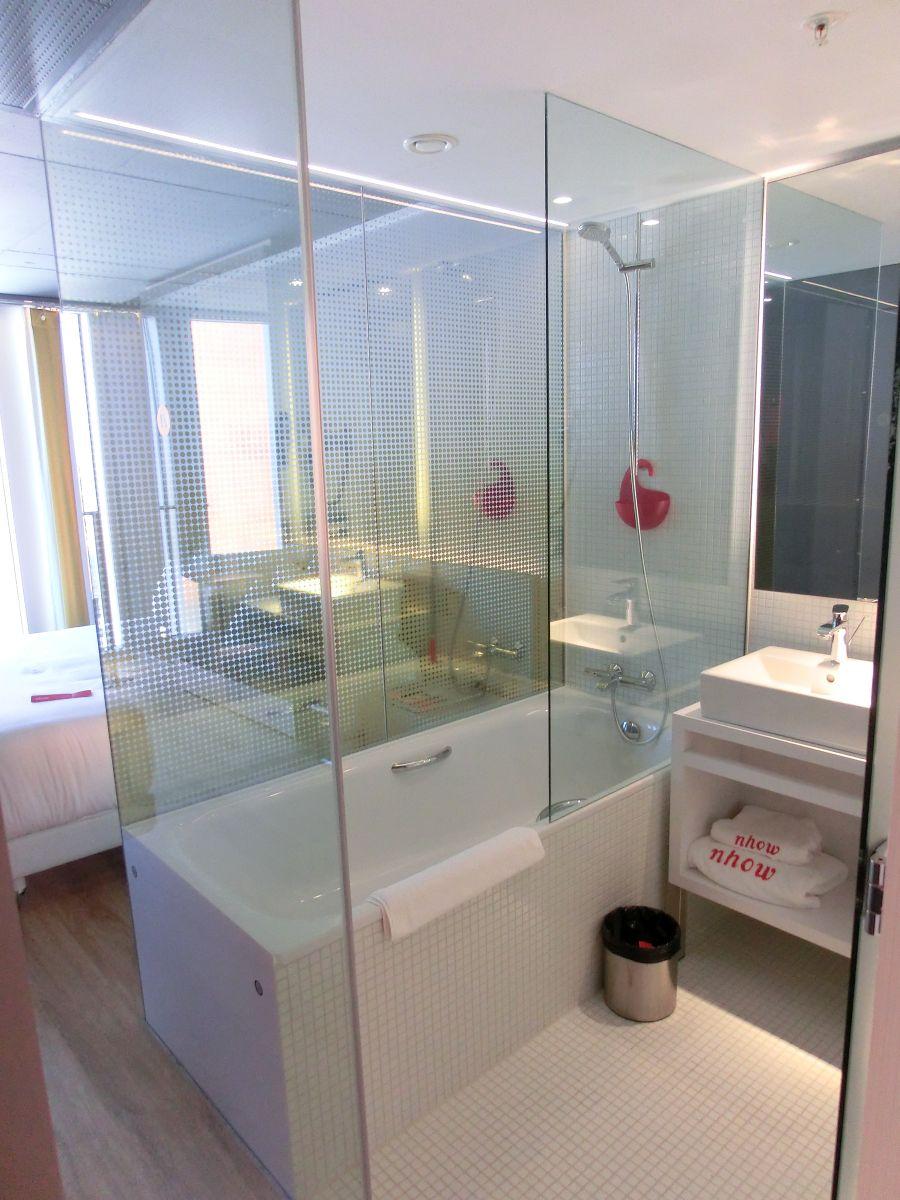 Badezimmer-Hotel-nhow-Rotterdam - Reisetipps weltweit