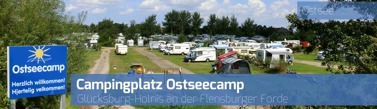 Campingplatz Ostseecamp - Glücksburg-Holnis - Flensburger Förde