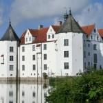Nahansicht Wasserschloss Glücksburg
