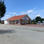 Rezeption / Anmeldung Campingplatz Ostseecamp