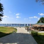 Strandpromenade - Strand Sandwig - Glücksburg an der Ostsee