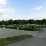 Blick über die Terrassen und Gartenanlage des parks Sanssouci