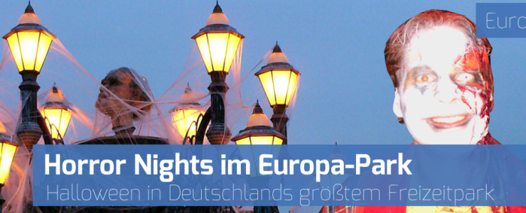 Terenzi Horror Nights im Europa-Park Rust