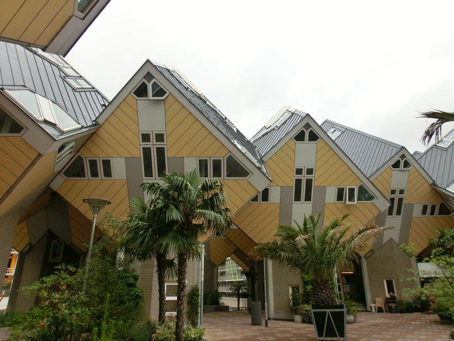 Innenhof der Kubushäuser