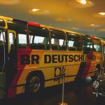 Mannschaftsbus deutsche Fußball-Nationalmannschaft WM 1974