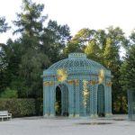Östlicher Gitterpavillon am Schloss Sanssouci