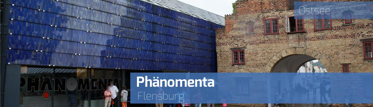 Phänomenta Flensburg am Nordertor