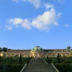 Schloss Sanssouci in Potsdam mit Weinterrassen