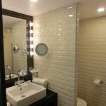 Ansicht Badezimmer mit Toilette