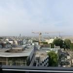 Blick von der Dachterrasse des Terrass Hotels
