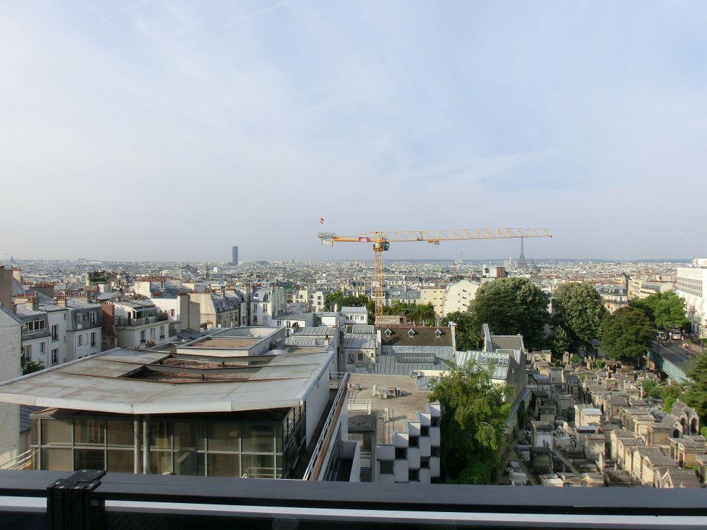 Paris Hotel Dachterrasse