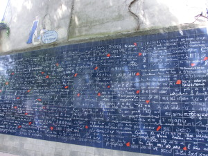 Mur des je t'aime - I love you wall Paris