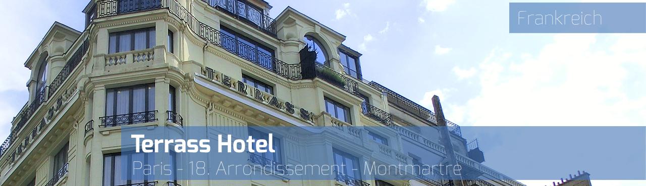 terrass hotel paris montmartre frankreich reisetipps weltweit. Black Bedroom Furniture Sets. Home Design Ideas