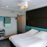 Zimmeransicht Standardzimmer mit Doppelbett im Terrass Hotel